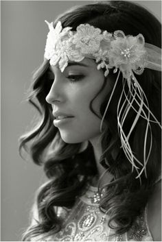 1920's Inspired Bridal Shoot by Jennifer Fujikawa Photography - because who doesn't love the 20's?