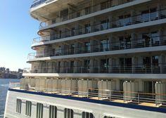 Oceania Cruises Marina - in Sydney, Australia. 2013