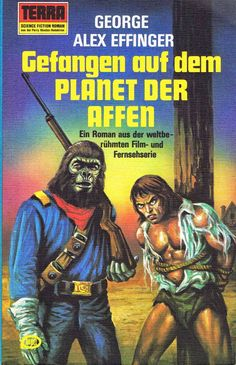Archives Of The Apes: German Novelizations