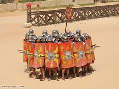 Roman Military Battle Formations | Roman Army Formations