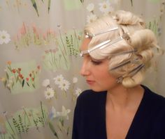 #vintage #hair #hairdressing #dressing#style #hairstyle #hairstyles #waves #curls #finger #waves #20'a #30's