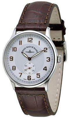 Zeno-Watch Mens Watch - Flatline Winder - 6211-f2