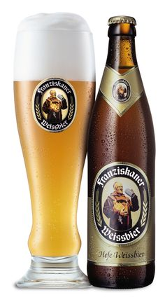 My favorite beer. Franziskaner Weissbier....I have to find a place to buy it in denver!!!!
