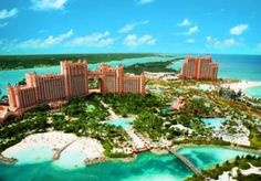 Atlantis in the Bahamas so I can swim with the dolphins