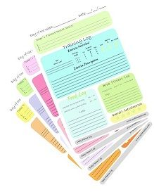 Free Printable Daily Fitness and Workout Logs