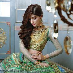 Nomi Ansari Bridal Dresses Featuring Mawra Hocane Pakistani couture