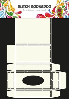 Dutch Doobadoo Dutch Box Art stencil tissue doosje A4 470.713.034 (01-17)