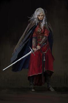 Woman Warrior by Anastasiya Hurtina
