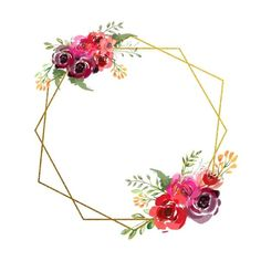 - #planodefundo Frame Floral, Flower Frame, Painting Wallpaper, Flower Wallpaper, Bohemian Birthday Party, Hight Light, Eid Crafts, Tableau Design, Illustration Blume