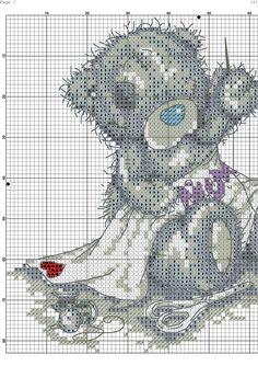 Teddy cross stitch 2