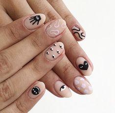 Stylish Nails, Trendy Nails, Nail Manicure, Gel Nails, Cute Nail Art Designs, Acrylic Nail Designs, Fire Nails, Minimalist Nails, Luxury Nails