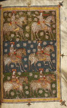The Rider upon the White Horse, Silos Beatus Codex, Beatus of Liébana, Spain