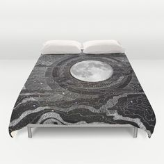 Duvet Cover featuring Moon Glow by Brenda Erickson
