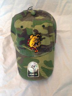 NCAA Ferris State University Bulldogs Women's Fashion Clean Up Camo Hat
