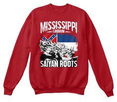 Super Saiyan Sweat Shirt - FOR MISSISSIPPI FANS - TS00164SW