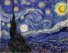 Έναστρη νύχτα - 1889