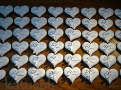 svatební cukroví inspirace - Hledat Googlem Personalized Items, Wedding, Valentines Day Weddings, Mariage, Weddings, Marriage, Casamento, Chartreuse Wedding