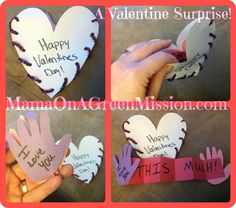 Easy DIY Valentine's Crafts with Toddlers