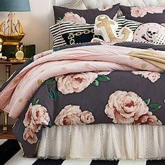 The Emily & Meritt Bed Of Roses Duvet Cover + Sham | PBteen