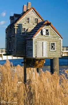 Birdhouse  by Thomas F. Burke, Builder of Fine Bird Homes