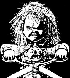 CHUCKY Chucky Drawing Doll And His Bride Good Guy