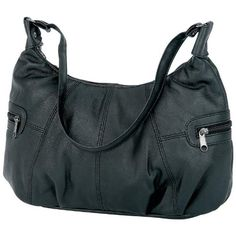 """http://peakmomentum.org/?qpn-pinnable-post=embassy-solid-genuine-lambskin-leather-purse Features zippered main compartment, shoulder strap, two exterior zippered pockets, and two interior pockets. Measures 11-1/2"""" x 4"""" x 7-1/2""""."""