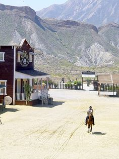 The Tabernas desert is 'Wild West' country - or, at least, it was! If you watched Clint Eastwood in 'A Fistful of Dollars' or 'For a Few Dollars More' Andorra, Dune, Old Western Towns, South Of Spain, Natural Park, Spain Travel, Summer Travel, Wild West, Hollywood
