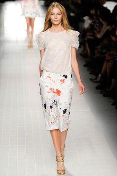 FeminineX | Blumarine Milan Fashion Week 2014