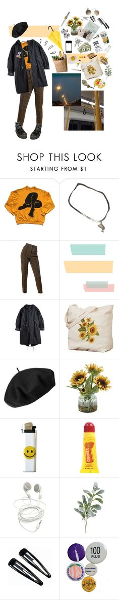 """""""Untitled #82"""" by iwanttodieplshelp ❤ liked on Polyvore featuring Emanuel Ungaro, Betmar, Home Decorators Collection, Carmex, Pier 1 Imports, BOBBY, Clips and Old Navy"""