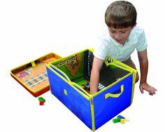 Neat-Oh! LEGO City ZipBin 1000 Brick Medium Toy Box & Playmat