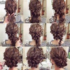 #hairstyleseasy #hairstyles #updo #updohairstyles