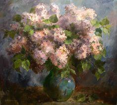 Lilac, Painting, Painting Art, Syringa Vulgaris, Paintings, Painted Canvas, Drawings, Lilacs