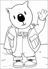 Dibujos para colorear Hermanos Koala