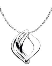 Kit Heath Large Sterling Silver Odyssey Necklace