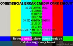 At Home Circuit training workouts