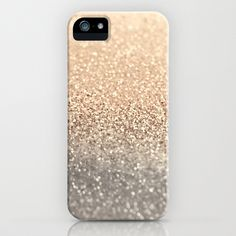 Gatsby Gold iPhone Case by Monika Strigel
