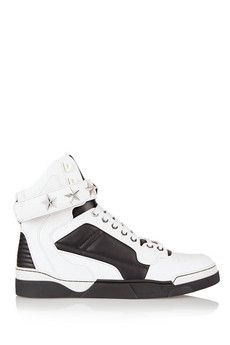 Givenchy Tyson sneakers in white and black leather  53a5e337f10ac