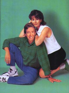 "Tim & Jill Taylor (Home Improvement) Jill is the hottest mom ever on TV. Her attitude says it all: ""That's my man."" "" I feel the need to torque something."" "" I sent the kids to the neighbors."""