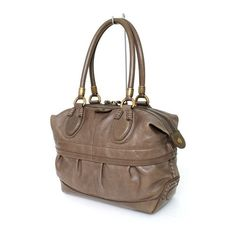 Pre-owned Tod's Satchel ($429) ❤ liked on Polyvore featuring bags, handbags, apparel & accessories, satchels, wallets & cases, vintage leather purse, leather satchel, hand bags, leather handbags and brown leather satchel
