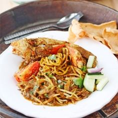 Mie Kepiting Aceh (Aceh Crab Noodle)