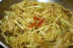 I cooked Trinidad curry cabbage for the first time.  It was delicious on top of rice.  So flavorful.  I was impressed.  5 STARS