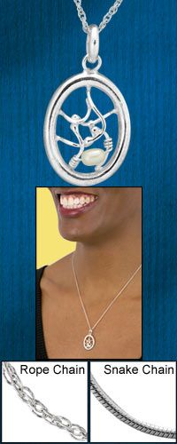 Claudia's Intricate Sterling & Freshwater Pearl Necklace at The Hunger Site  Funds 50 cups of food