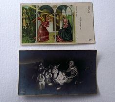Vintage 1st Holy Communion cards 1949 1939 by EvasCollections, $4.50