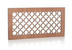 14x6_circle_cherry Laser Cut Wood, Laser Cutting, Wall Vent Covers, Types Of Wood, Finding Yourself, New Homes, How To Plan, Pattern, Cherry