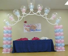 Party People Celebration Company traveled 2 hours North to Ocala to decorate for the Patel's baby shower.  Mr. Patel wanted to surprise his...
