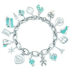 67df72cccca84 69 Best Tiffany Charm Bracelets images in 2016   Tiffany charm ...