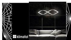 Όταν το σύγχρονο design ξεπερνά τα συνηθισμένα … η ομορφιά τείνει στο άπειρο… So.nodo - Pendant in opaque white metal with Led  #Klimafot Neon Signs, Led