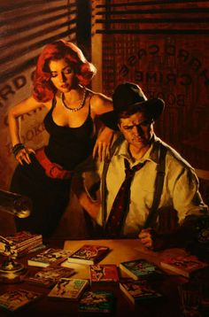 Official Glen Orbik Website - Dangerous Dames & Pulp Noir/Fifty - to - One by Charles Ardai