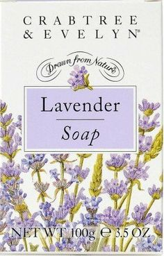 Crabtree and Evelyn Lavender Soap Bar