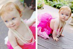 1 year portrait photography | baby girl pink tutu | baby ballerina birthday theme | baby photo accessories | baby girl pink birthday